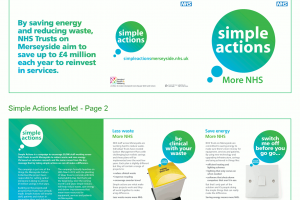 Simple Actions leaflet