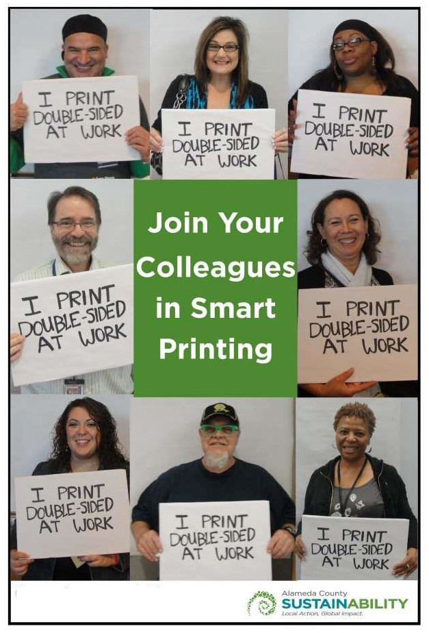 Smart printing campaign